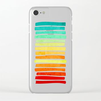 Tropic Clear iPhone Case by eDrawings38