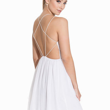 Geometric Back Dress, NLY One