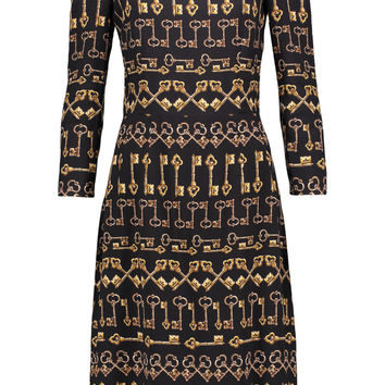 Printed crepe dress | Dolce & Gabbana | US | THE OUTNET