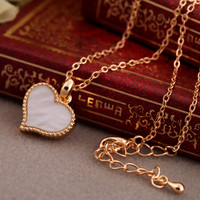 Free Shipping Love Heart Necklace --N068