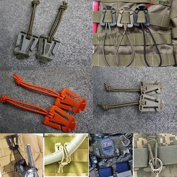 ITW webbing Molle Backpack bushcraft Strap Hang Buckle Elastic Rope Clip Military Outdoor Camp Hike travel kit attach web webdom