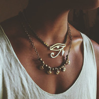 Eye of Horus Chunky Necklace