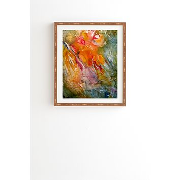 Rosie Brown Abstract 3 Framed Wall Art