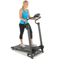 The Foldaway Walker's Treadmill - Hammacher Schlemmer