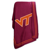 Virginia Tech Hokies NCAA Classic Fleece Blanket