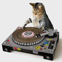 Cat DJ Scratching Deck | Shop Pet Gifts Now | fredflare.com