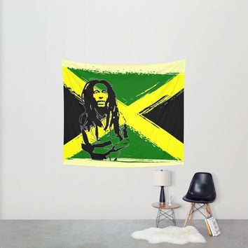 Feeling Rasta Wall Tapestry by Peter Reiss