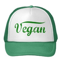 Green Vegan Hat