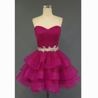 Short Prom Dress Hoco Dresses Homecoming Dress pst0998