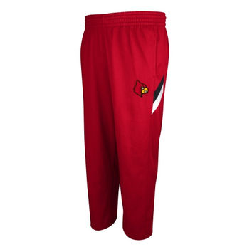 Louisville Cardinals adidas Football Sideline Performance Warm Up Pants – Red