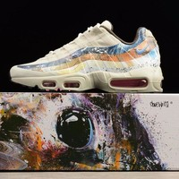 DCCKGV7 Best Online Sale Dave White x size? x Nike Air Max 95 Stone / Thunder Sport Running Shoes 872640-200