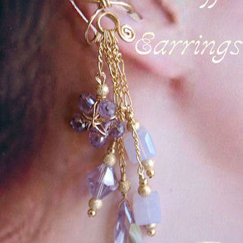 Wire Jewelry Tutorial to make Ear Cuffs - Earrings for Pierced or Non-Peirced Ears - Instant Downloadable PDF File