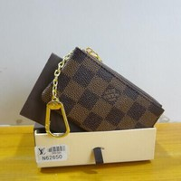 Louis Vuitton COIN PURSE BROWN COIN POUCH , HOLDERS Day-First™