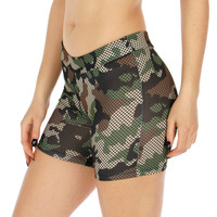 Camo Yoga Short GREEN