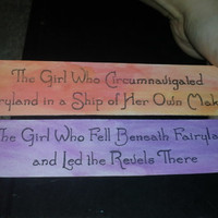 Fairyland Watercolor Title Bookmarks