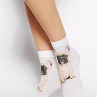 ASOS French Bulldog Ankle Socks