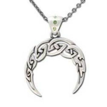 Celtic Moon necklace