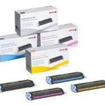 XEROX CARTRIDGES REPLACE HP CB402A - YELLOW FOR COLOR LASERJET CP4005 SERIES, XE