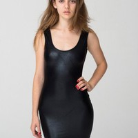 American Apparel - Shiny Tank Pencil Dress