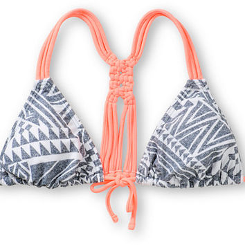 Malibu Shelly Macrame Back Triangle Bikini Top