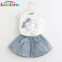Sleeveless Baby Girl Summer 2pc set