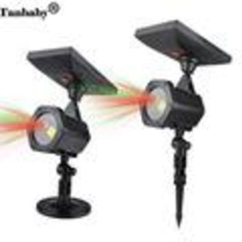 Fairy Laser Landscape Lights with Remote Projector Outdoor LED Red Green Star Motion Shower Projection Lighting
