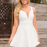 Juliana Dress - White
