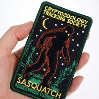 Cryptozoology Tracking Society: Sasquatch Patch