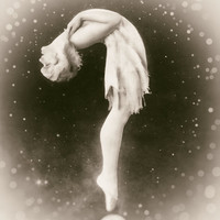 Ziegfeld Follies vintage photo gymnast dancer antique photograph 1920s- PRINT