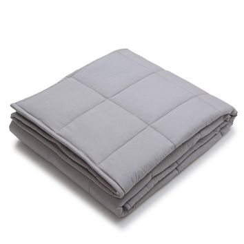 Light Gray 2 Sizes Weighted Heavy Sensory Blanket Duvet Cover For Children Or Adults