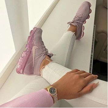 Nike Air VaporMax Flyknit Women's fashion and leisure running shoes