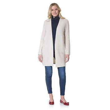 Drape Front Long Cardigan by Sail to Sable