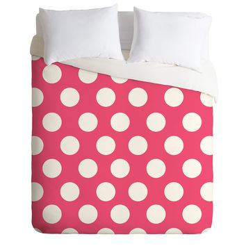 Allyson Johnson Pinkest Pink Duvet Cover