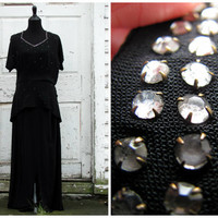 Perfect For A Halloween Costume or A Christmas Gift/ Rare, One Of A Kind, Elegant Glamorous 30s 40s Party Cocktail Gown Dress Costume
