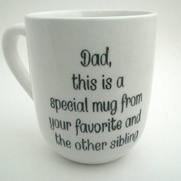 Fathers Day Mug - Father's Day Gift - White Coffee Mug - Dad Mug - White Coffee Cup - Ceramic Mug - Ceramic Coffee Mug - Ceramic White Mug