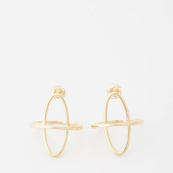 Totokaelo - Gabriela Artigas 14k Yellow Gold Arch Boreal Earrings - $785.00