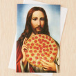 InvisibleMaestro Printing Pizza Card - Urban Outfitters