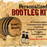 Personalized Barrel - Bootleg Kit