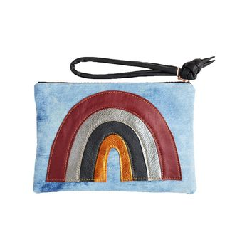 Rainbow Clutch Retro