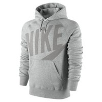 Nike Store. Nike Hybrid Brushed Fleece Men's Hoodie