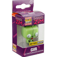 Funko Invader Zim Pocket Pop! Gir Key Chain