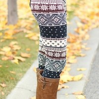 Winter Cream Leggings