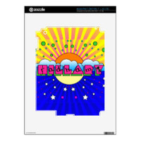 Cosmic Style Hillary Campaign Poster iPad 3 Decals