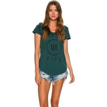 RVCA RVCA HIGH END 3 SHORT SLEEVE TEE