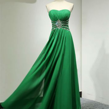 custome made chiffon evening dress party dresses prom dresses formal dress