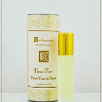 French Peony French Perfume 9ml. Roll on