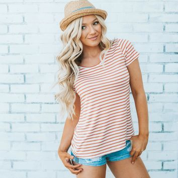 Land and Sea Striped Tee | Striped T Shirt