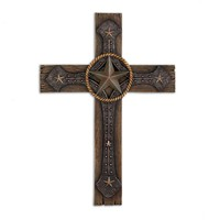 Rustic Cowboy Wall Cross