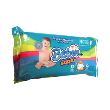 BABY WIPES BEBIN SUPER 24/40