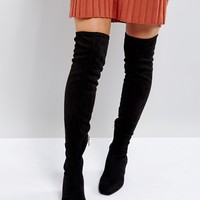 Stradivarius Over The Knee Boot at asos.com
